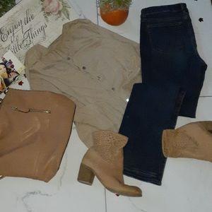 Crown vintage zuzzanie boots